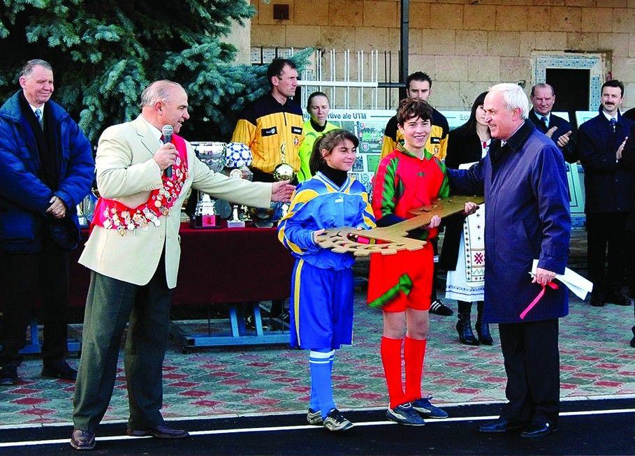 Deschiderea Complexului Sportiv al tineretului
