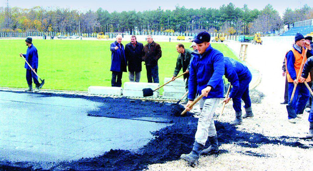 Mersul lucrărilor de reconstrucție a stadionului