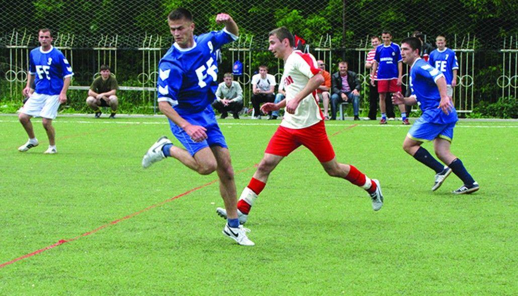Campionatul de fotbal al UTM, competiție care se bucură de cea mai mare popularitate, anul 2010