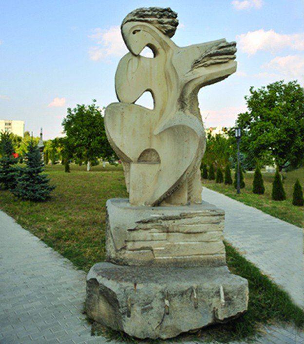 Ansamblul de sculpture decorative