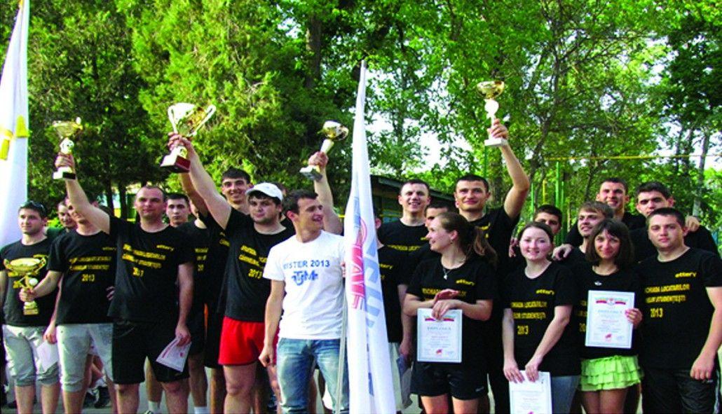 Universitatea Tehnică — campioana Spartachiadei locatarilor căminelor studenţeşti, anul 2013