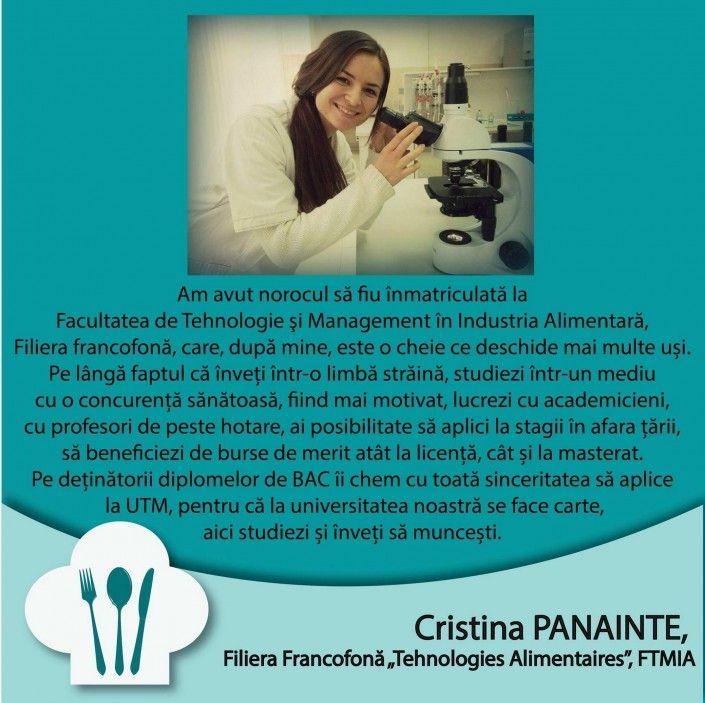 Cristina PANAINTE - FTMIA