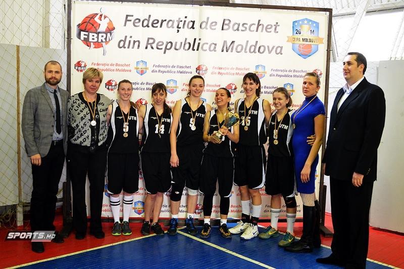 Echipa UTM la Campionatul de baschet al RM, ediția anului 2015
