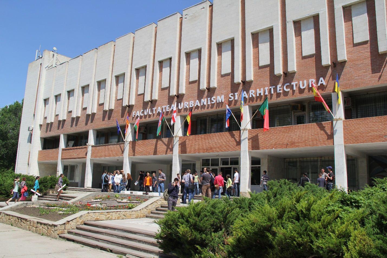 Blocul de studii al Facultăţii Urbanism şi Arhitectură