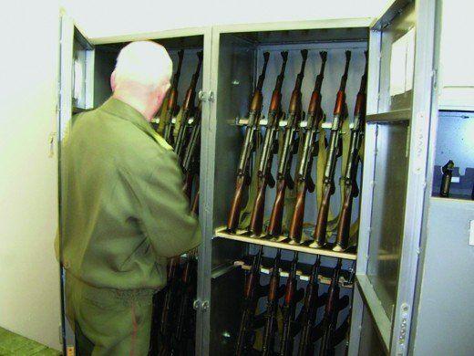 Depozit de păstrare a armamentului