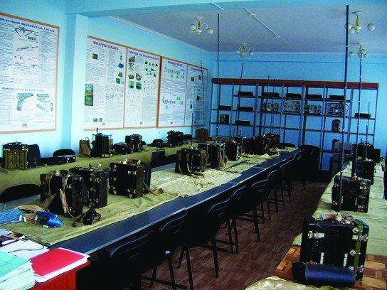 Sală specializată pentru studiul mijloacelor radio