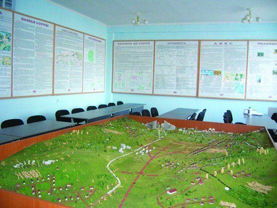 Sală specializată pentru studiul topografiei militare