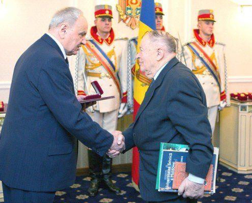 Distincție Aurel Marinciuc