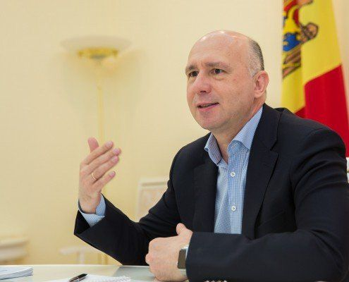 Prim-ministrul Pavel FILIP