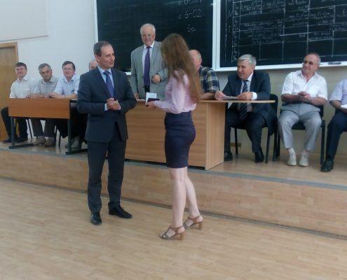 Inmanarea carnetului de student, Universitatea Tehnic[ a Moldovei