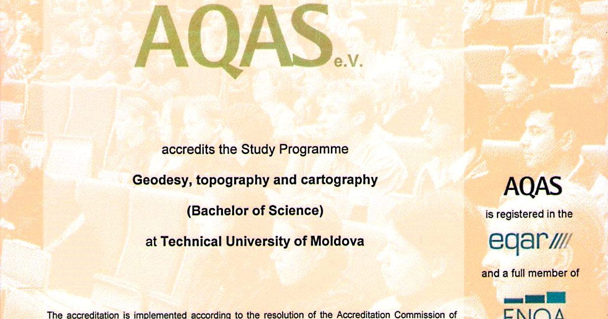 AQAS_Geodezie, topografie și cartografie