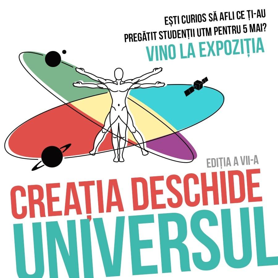 expozitia CREATIA DESCHIDE UNIVERSUL