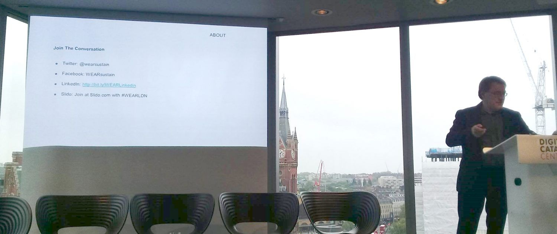 UTM_Londra_WEAR Sustain Symposium 2