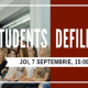 Students defile - r