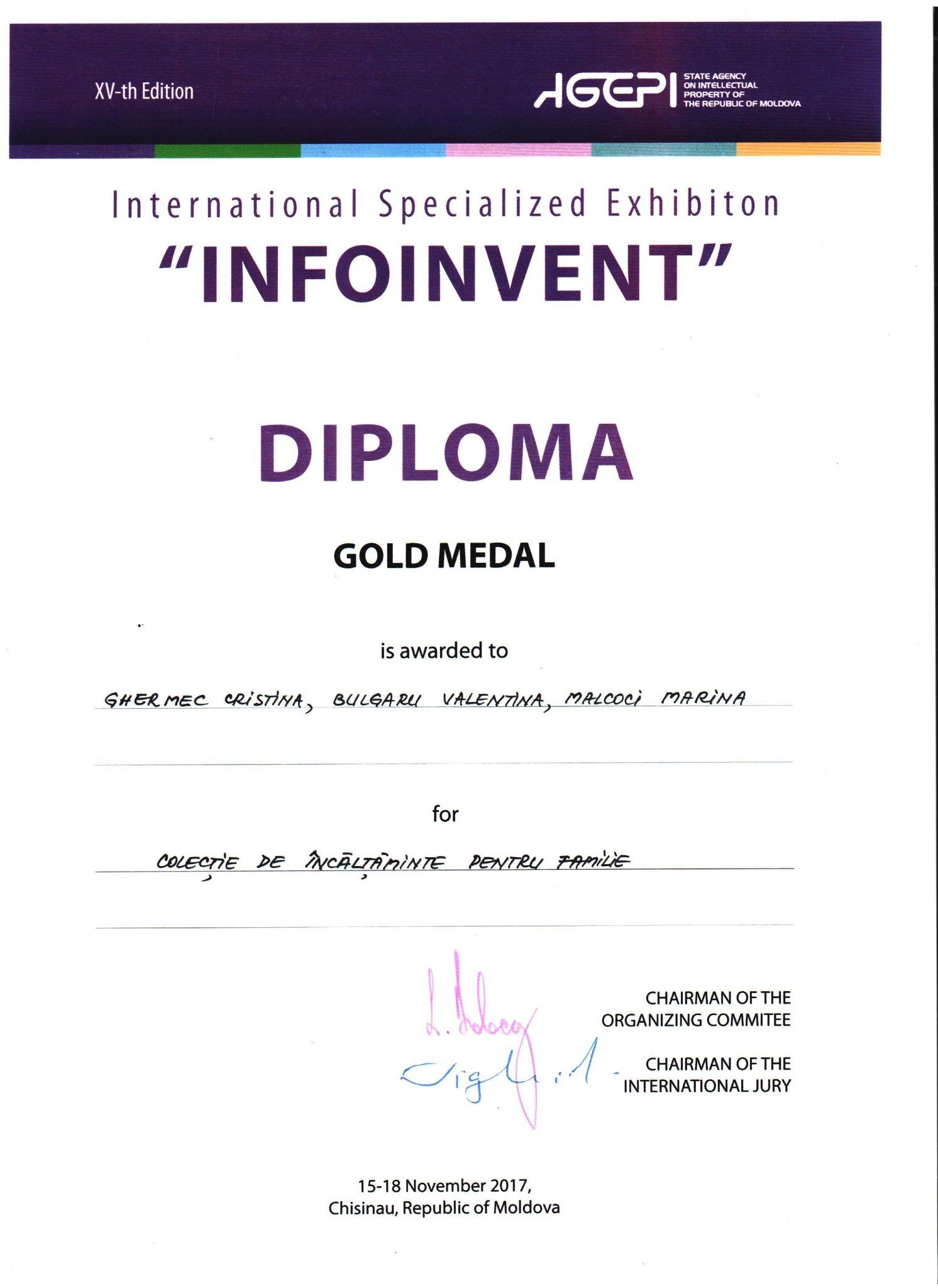 diploma FTP Infoinvent 2017_result