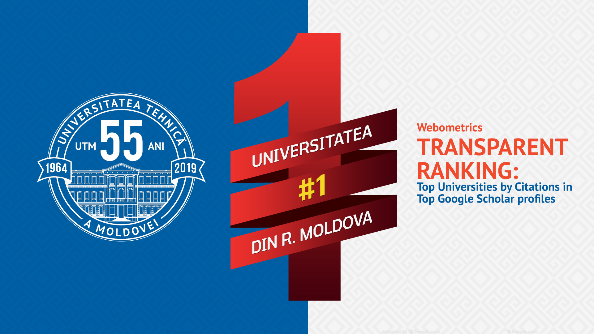 UTM, the leading position nationally in Webometrics, Top