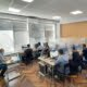 Profesorii DMIB au confecționat și instalat panouri anti-covid în sălile de studii