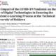 """""""CREATIVE EDUCATION"""": Tehnologii digitale la UTM – provocări și oportunități în pandemia COVID-19"""